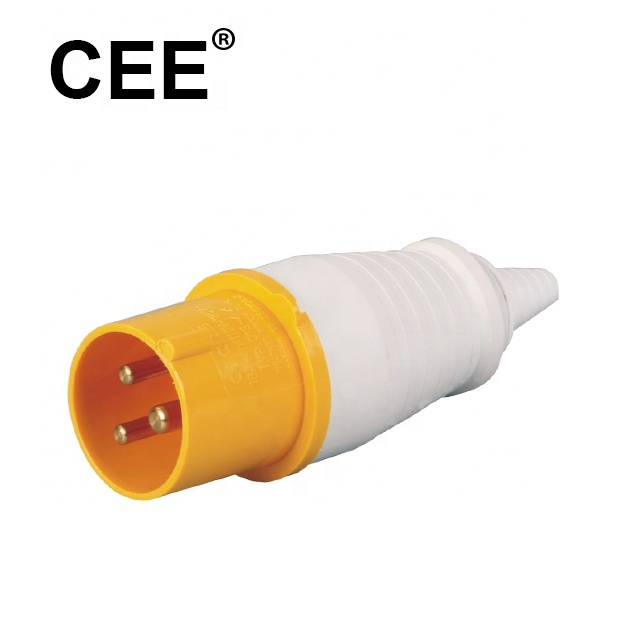 Wholesale UK yellow commando plug manufacturer in China