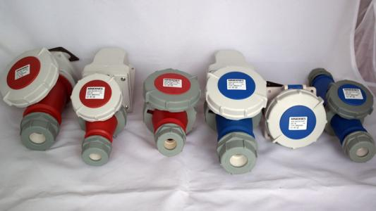 China industrial plug and socket supplier