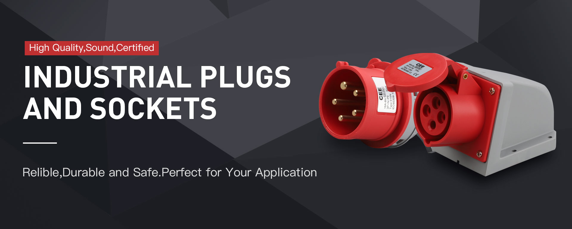 Industry plugs and sockets