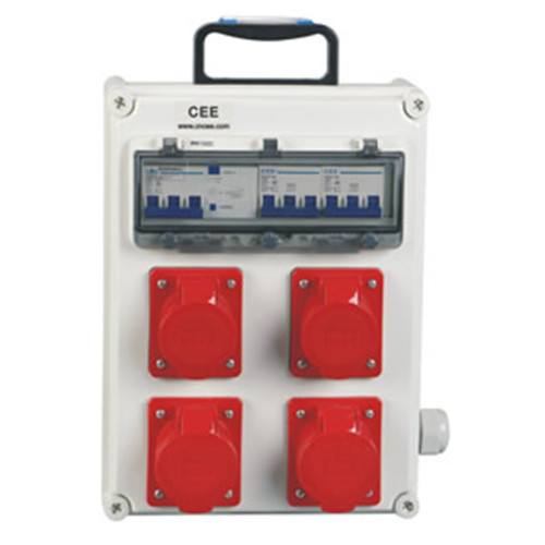 Supplier distribution box Industrial multiple socket CEE-14 with manufacture price