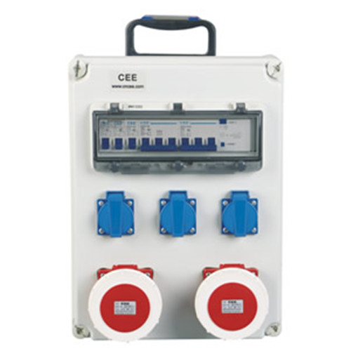 Top wholesale price 220V industrial power sockets distribution boxes CEE-15 supplier in China
