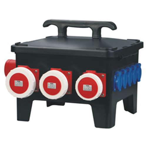 Reasonable cost industrial portable distribution outdoor boxes CEE-19 supplier
