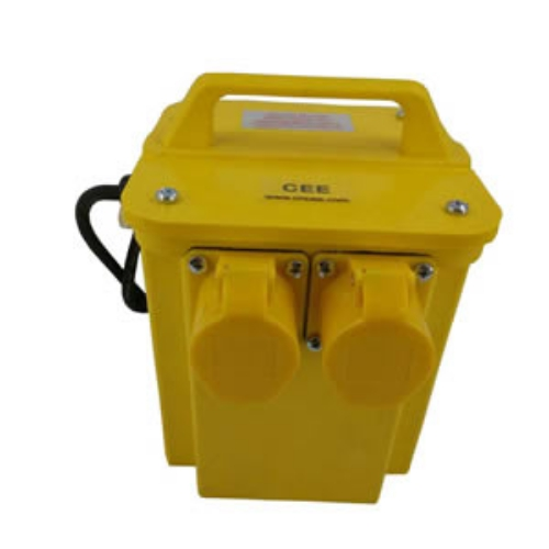High precision 110v portable transformer CEE-38 with output sockets 3.3 kVA factory in China