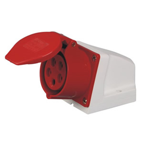 CEE wall mounted sockets for industry male and female 220-380V manufacturer